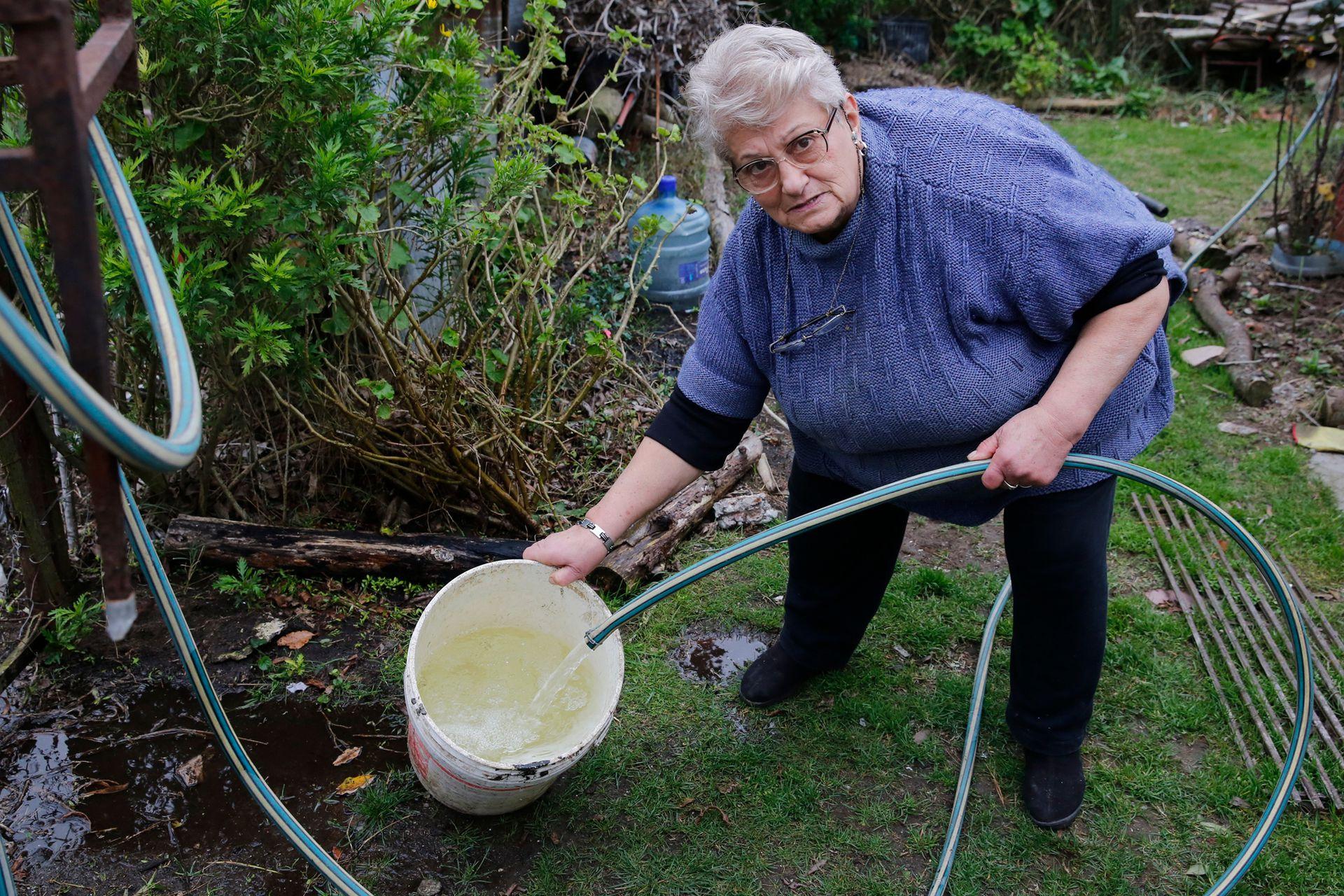 El agua de las napas está contaminada