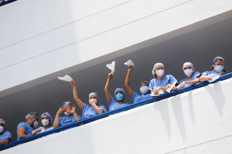 Las graves deficiencias del sistema de salud colombiano, sacudido por el Covid-19, y la lentitud de la vacunación son dos de los factores que desataron el malestar social