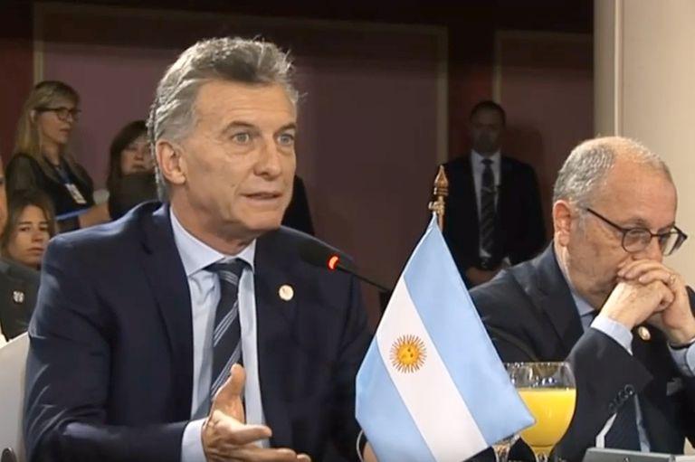 Mercosur: Macri acusó a Maduro de destruir la democracia