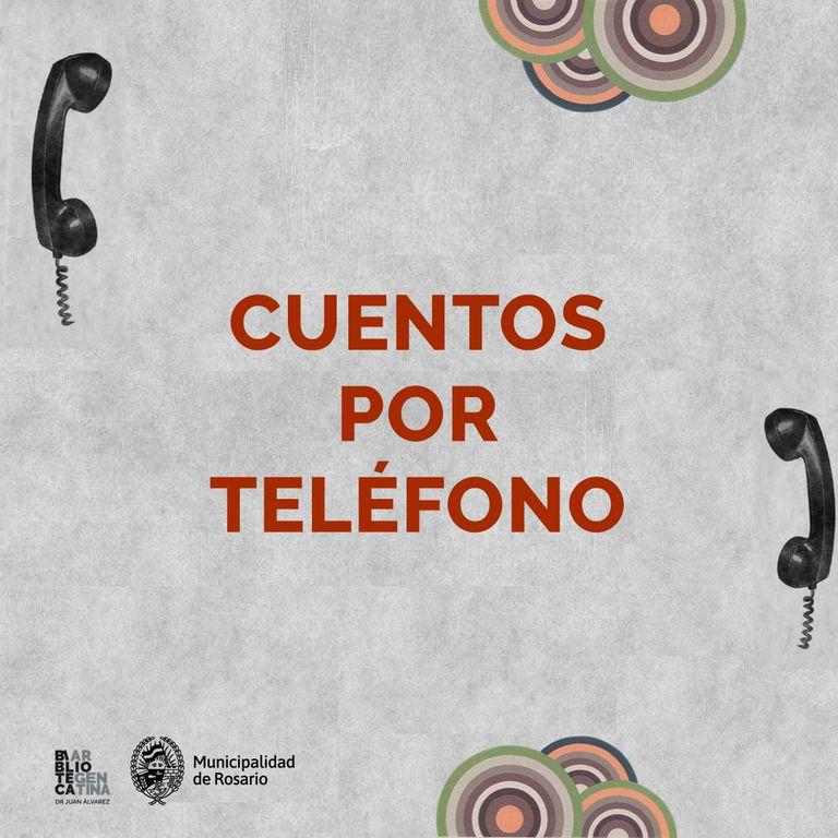 Cuentos por teléfono: una idea de la Biblioteca Argentina de Rosario para imitar