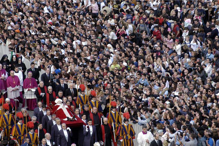 Juan Pablo II visitó 129 países durante sus 27 años de pontificado.