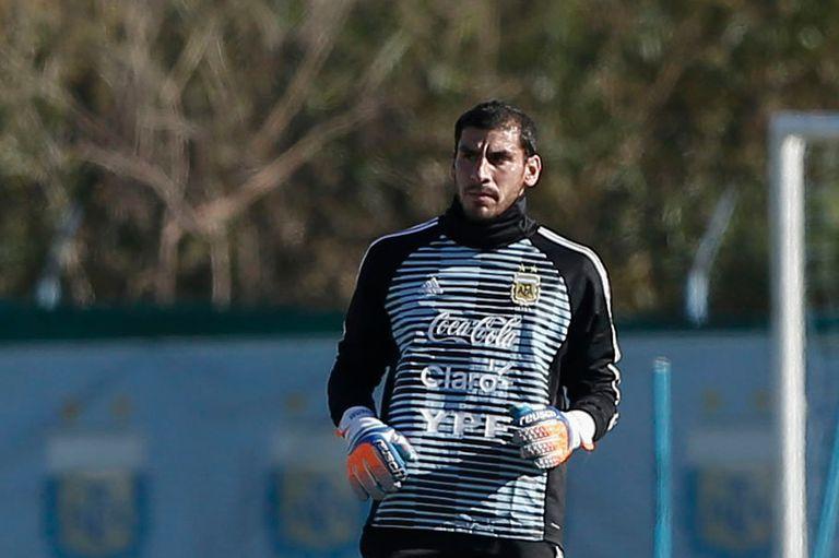 Mundial Rusia 2018: Nahuel Guzmán ya se entrena con el seleccionado argentino
