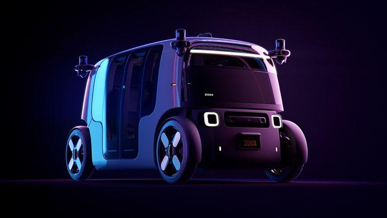 El auto autónomo para envío de mercaderías y transporte de pasajeros de Zoox, la compañía comprada por Amazon