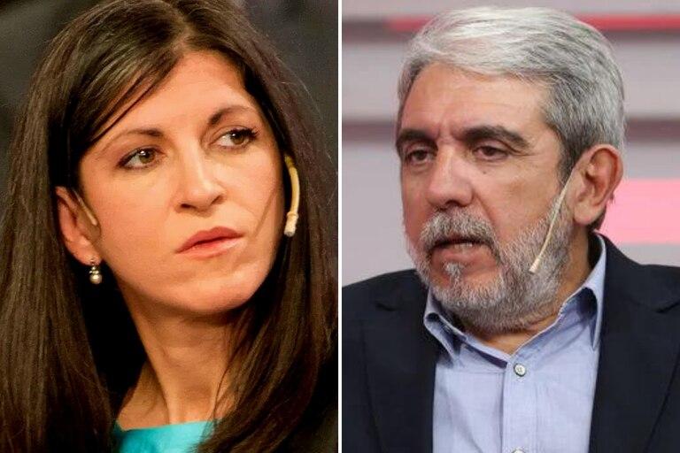 Aníbal Fernández cruzó a Fernanda Vallejos por su audio contra el Presidente