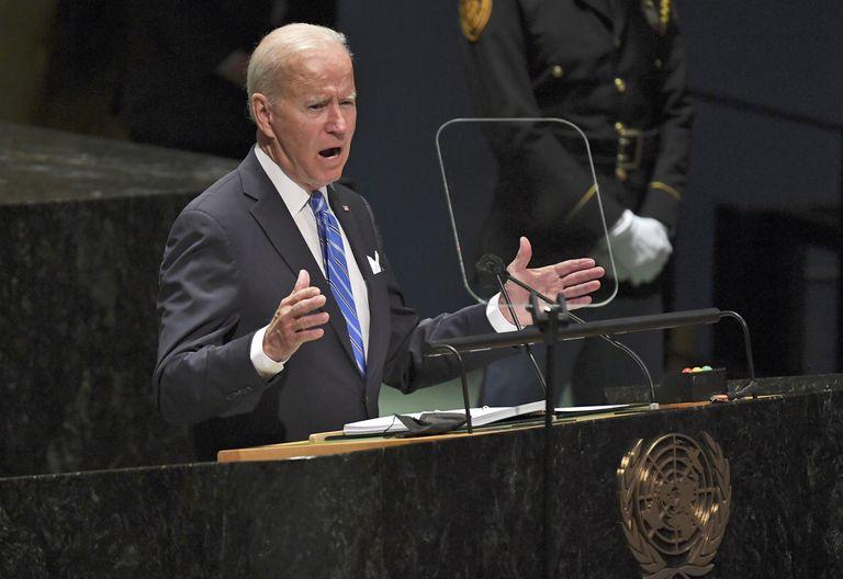 La crítica de Biden a Trump en su primer discurso ante las Naciones Unidas