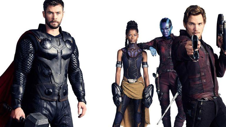 Thor, Nebula, Star-Lord se unen contra Thanos