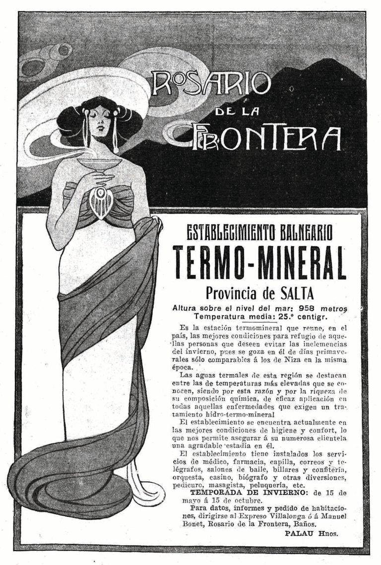 Publicidad de 1911, uno de los millones de documentos históricos que atesora el Archivo