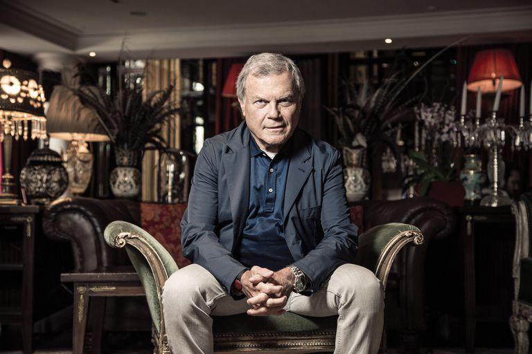 Martin Sorrell, el tiburón del mundo publicitario