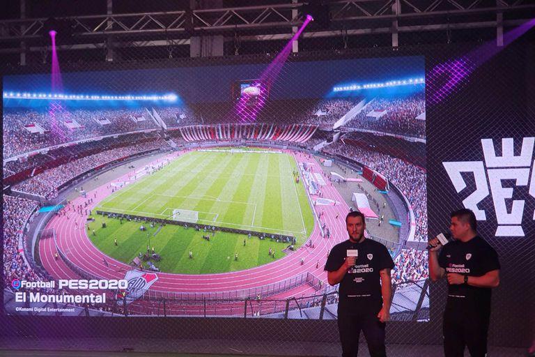 El estadio Monumental, al igual que la Bombonera, serán dos de los escenarios exclusivos del PES 2020