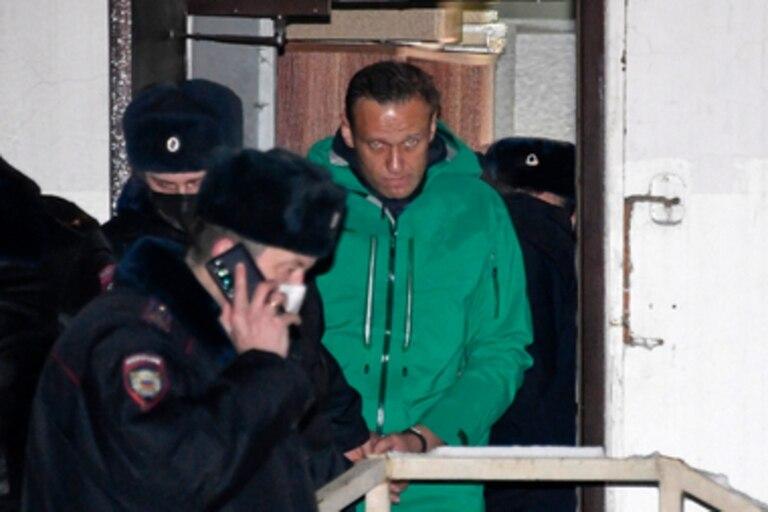 El líder opositor Alexei Navalny