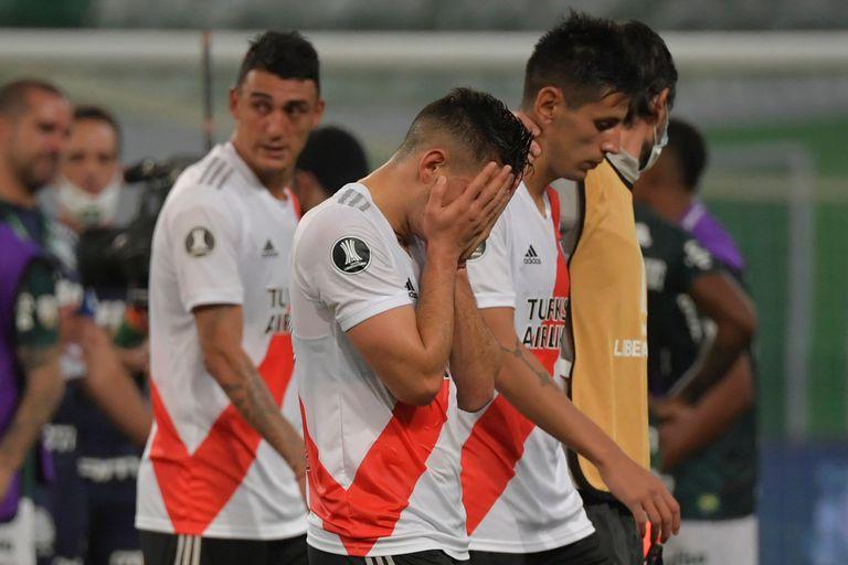 River quedó eliminado ante Palmeiras en la semifinal de la Copa Libertadores