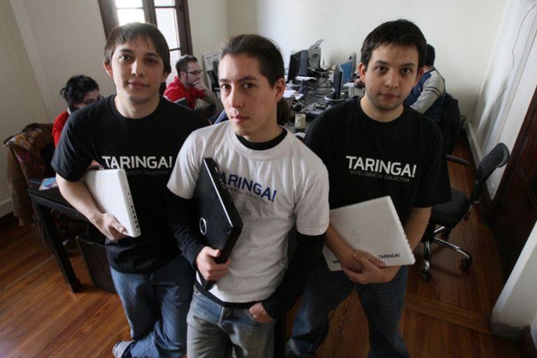 Matías Botbol, Alberto Nakayama y Hernán Botbol