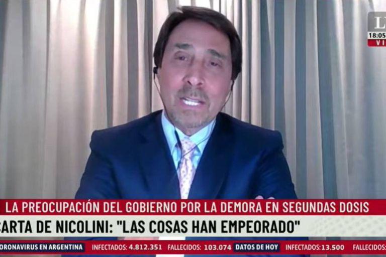 """La ironía de Feinmann mientras cumple su cuarentena: """"Va a salir en libertad Boudou antes que yo"""""""
