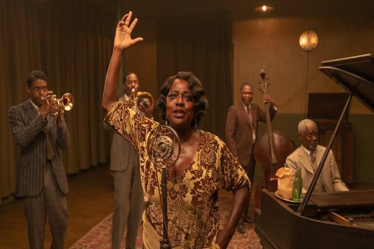 La madre del blues: los alcances del racismo y excelentes actuaciones de Viola Davis y Chadwick Boseman, quien murió este año