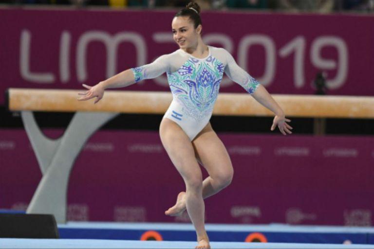 Toda la gracia de Martina Dominici durante los Juegos de Lima 2019