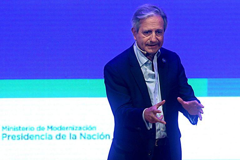 Andrés Ibarra. Aunque se disolvió Modernización, sigue al frente con sus proyectos