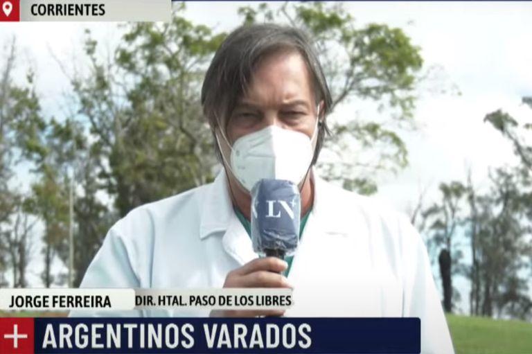 La directora nacional de Migraciones dijo que las fronteras están cerradas por una decisión del Gobierno; desde Corrientes aseguran que no tienen problemas para hacer tests a quienes quieran ingresar