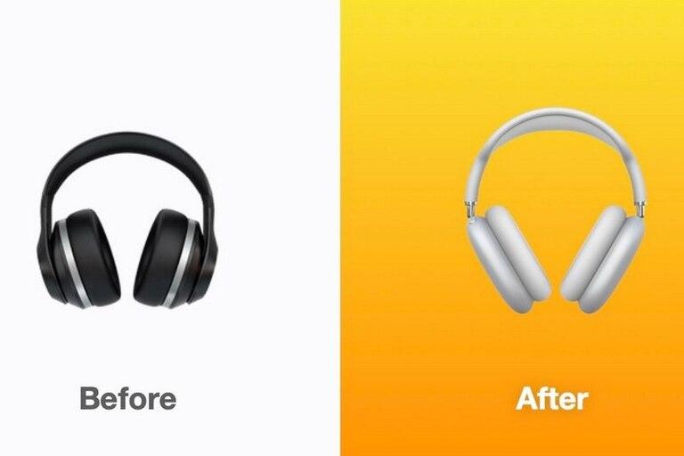 Un poco de marketing: los auriculares ahora lucen como los nuevos AirPod Max