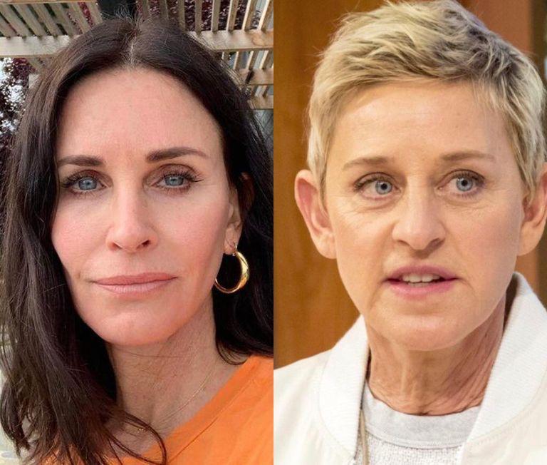 El motivo por el que Ellen DeGeneres se mudó a la casa de Courteney Cox