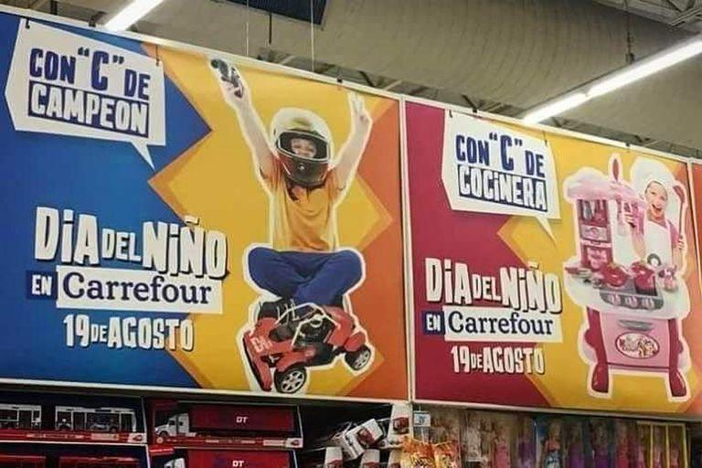 La polémica campaña por el Día del Niño que fue levantada por Carrefour