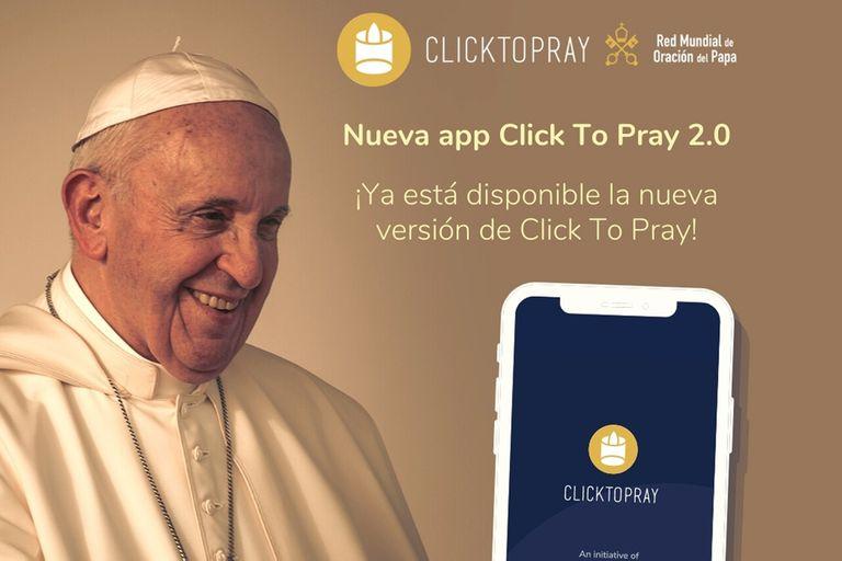Los argentinos detrás de la app de oraciones del papa Francisco