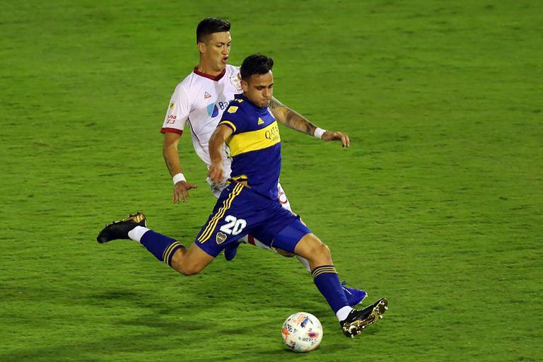 Gonzalo Maroni marcó el segundo gol tras ser habilitado por Fabra con un saque lateral
