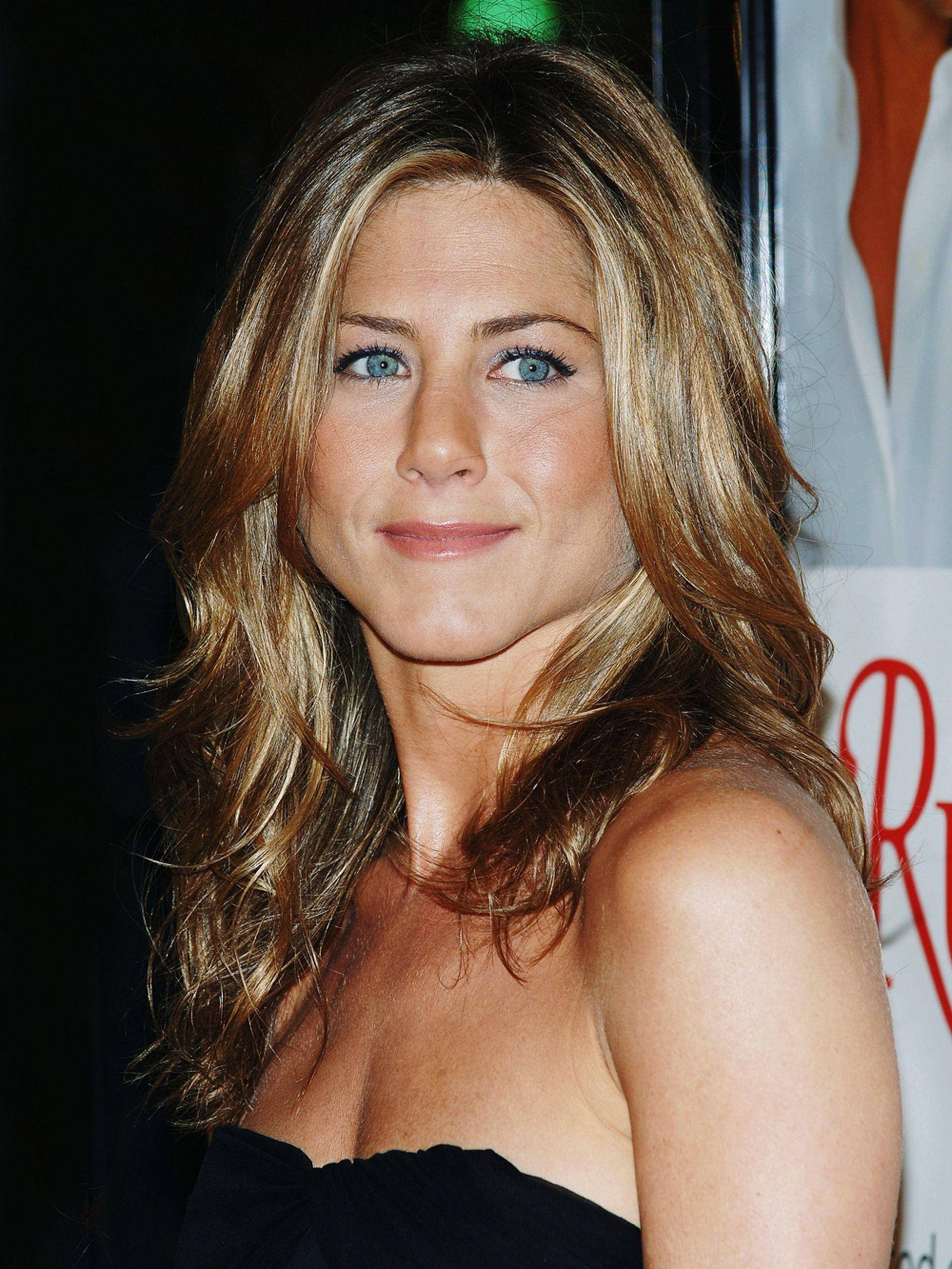 Jennifer Aniston en 2005, apenas unos meses después de hacer pública su separación de Brad Pitt