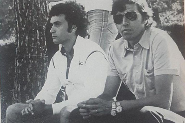 Con el chileno Patricio Rodríguez, al que considera un padre, un hombre clave en su carrera.