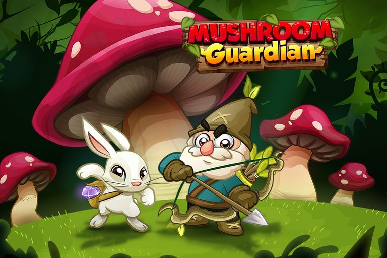 El videojuego Mushroom Guardian, disponible para iOS