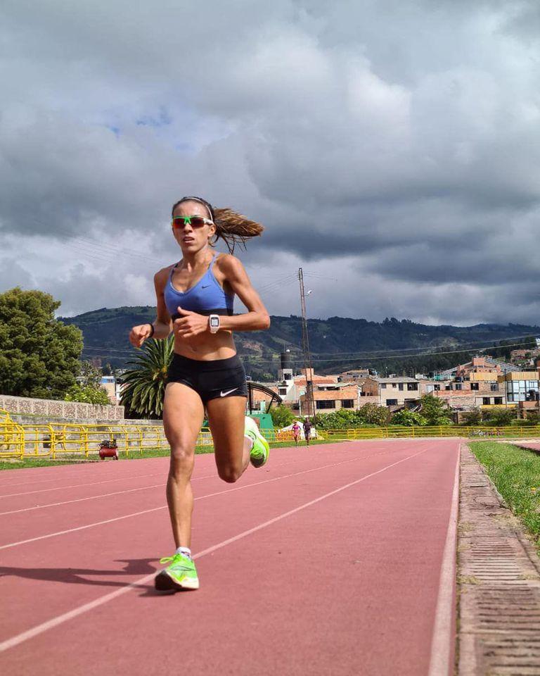 En la altura de Paipa, Colombia, se entrena Marcela Gómez