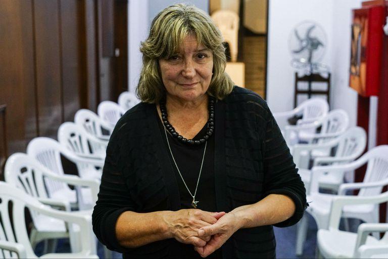 Graciela Barrera. Su hijo fue asesinado y se puso en campaña para luchar contra la delincuencia. Visita cárceles y les cuenta a los delincuentes el daño que hacen.