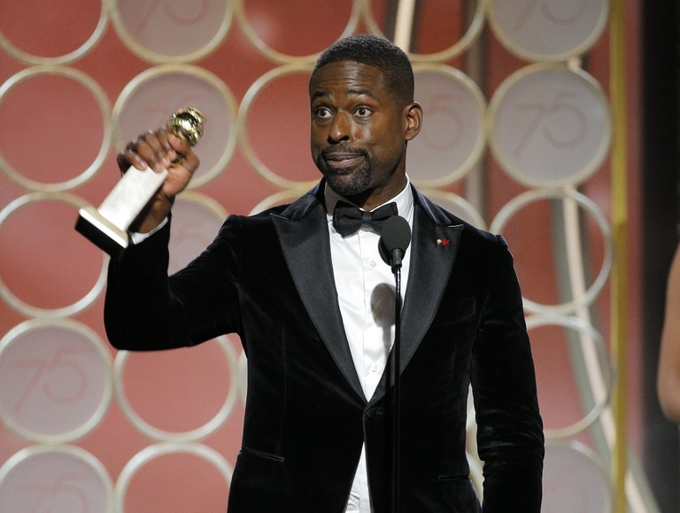 Sterling K. Brown, ganador de la serie This is Us