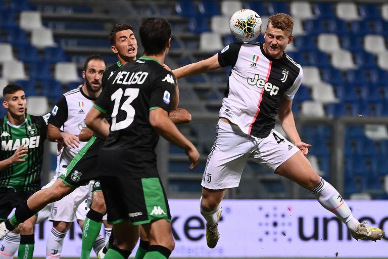 Italia. Los goles de un 3-3 atrapante: Juventus se salvó de perder ante Sassuolo