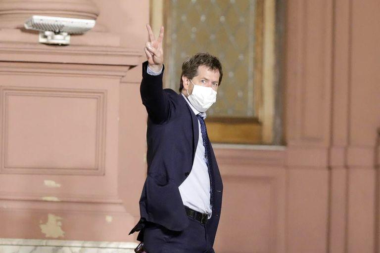 Apuntado directamente por Cristina, renunció el secretario de Comunicación Juan Pablo Biondi