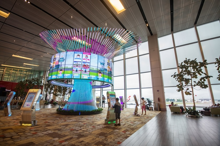 El aeropuerto internacional Changi, de Singapur