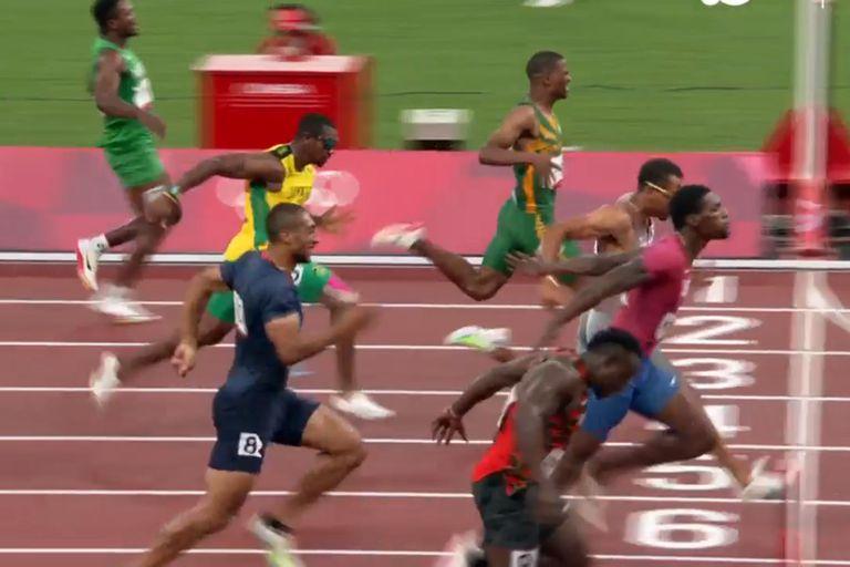 Sorpresas en la era post Bolt de los 100 metros: un chino y un italiano son candidatos en la final