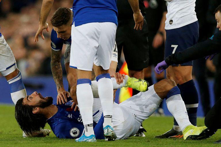 Impactante: la lesión de André Gomes que estremeció a la Premier League