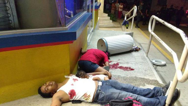 La violencia narco en México no tiene límites. Foto: Twitter @CuartaPlana