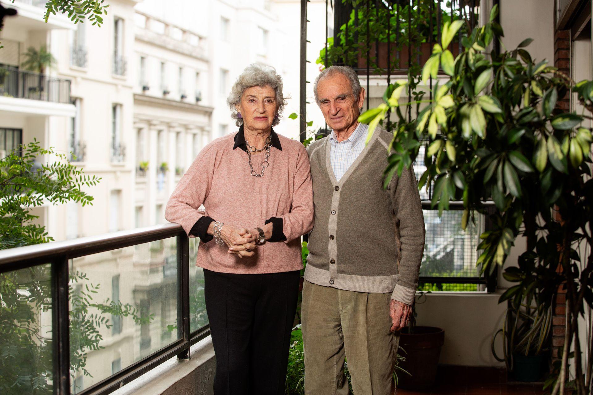 Eugenio y Estela Holmberg hoy.