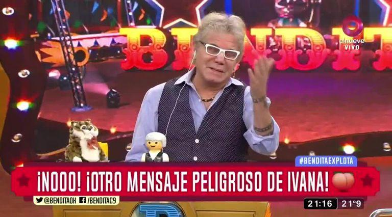 Beto Casella al frente de Bendita, uno de los éxitos de elnueve