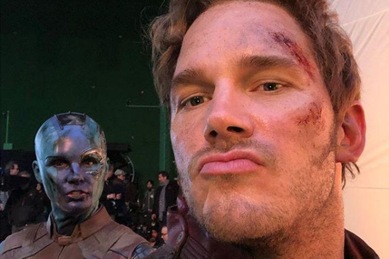 """Los Avengers """"rescatan"""" a Chris Pratt, luego de un tuit que lo volvió tendencia"""