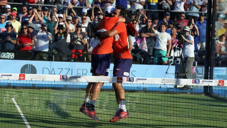 El argentino Fernando Belasteguín y el brasileño Pablo Lima campeones en Buenos Aires