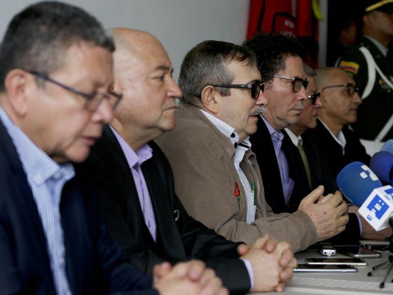La cúpula de la ex guerrilla FARC