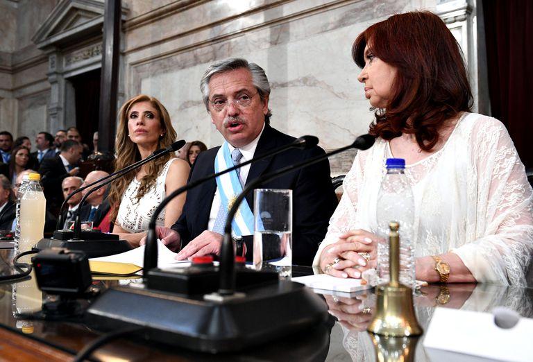 Fernández habló de reformas en la Justicia y en la AFI