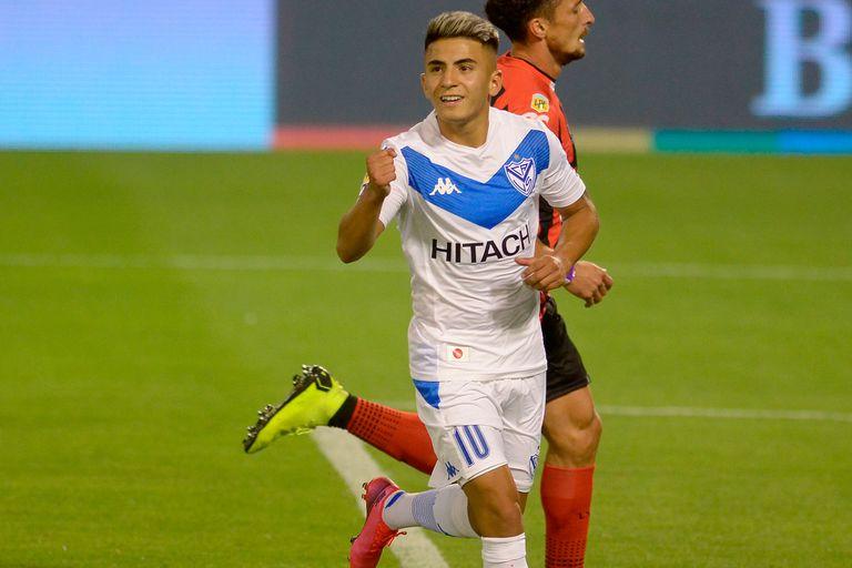 Vélez-Patronato, por la Copa Liga Profesional: el primer triunfo para Pellegrino