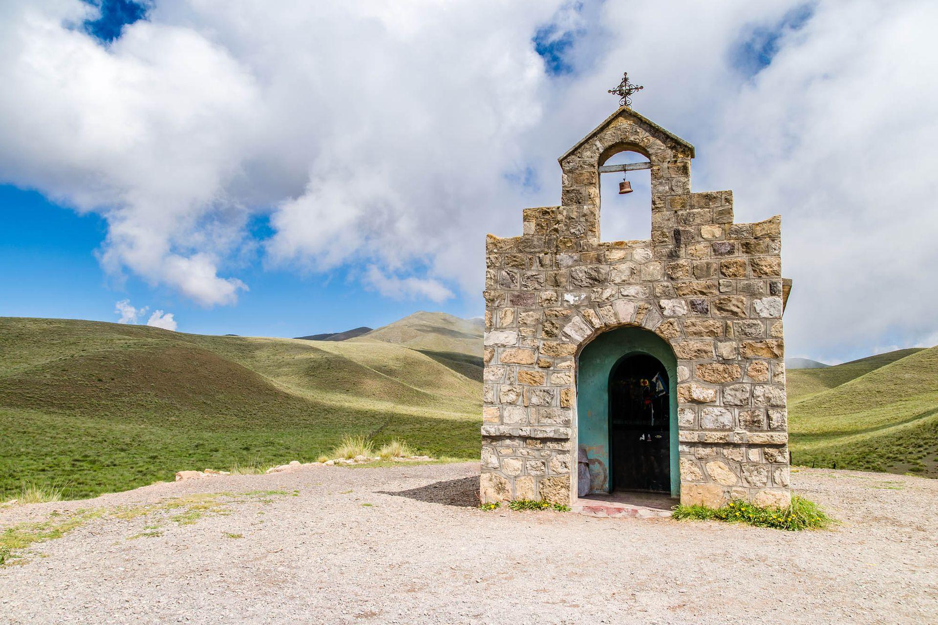 La capilla de San Rafael en la Cuesta del Ovispo