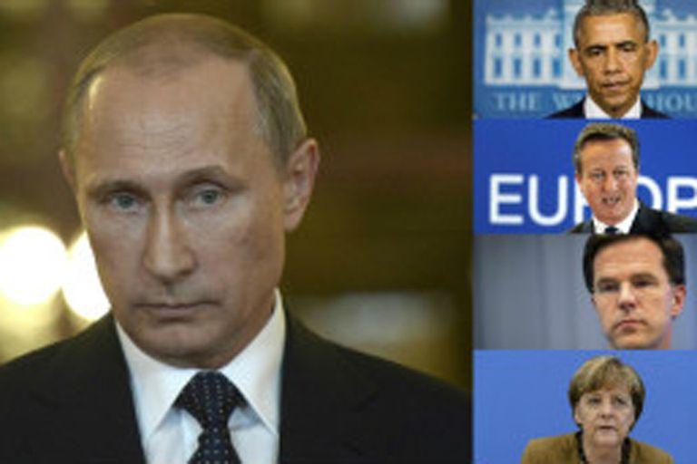 Gobernantes del mundo entero le están pidiendo claridad al presidente ruso Vladimir Putin.