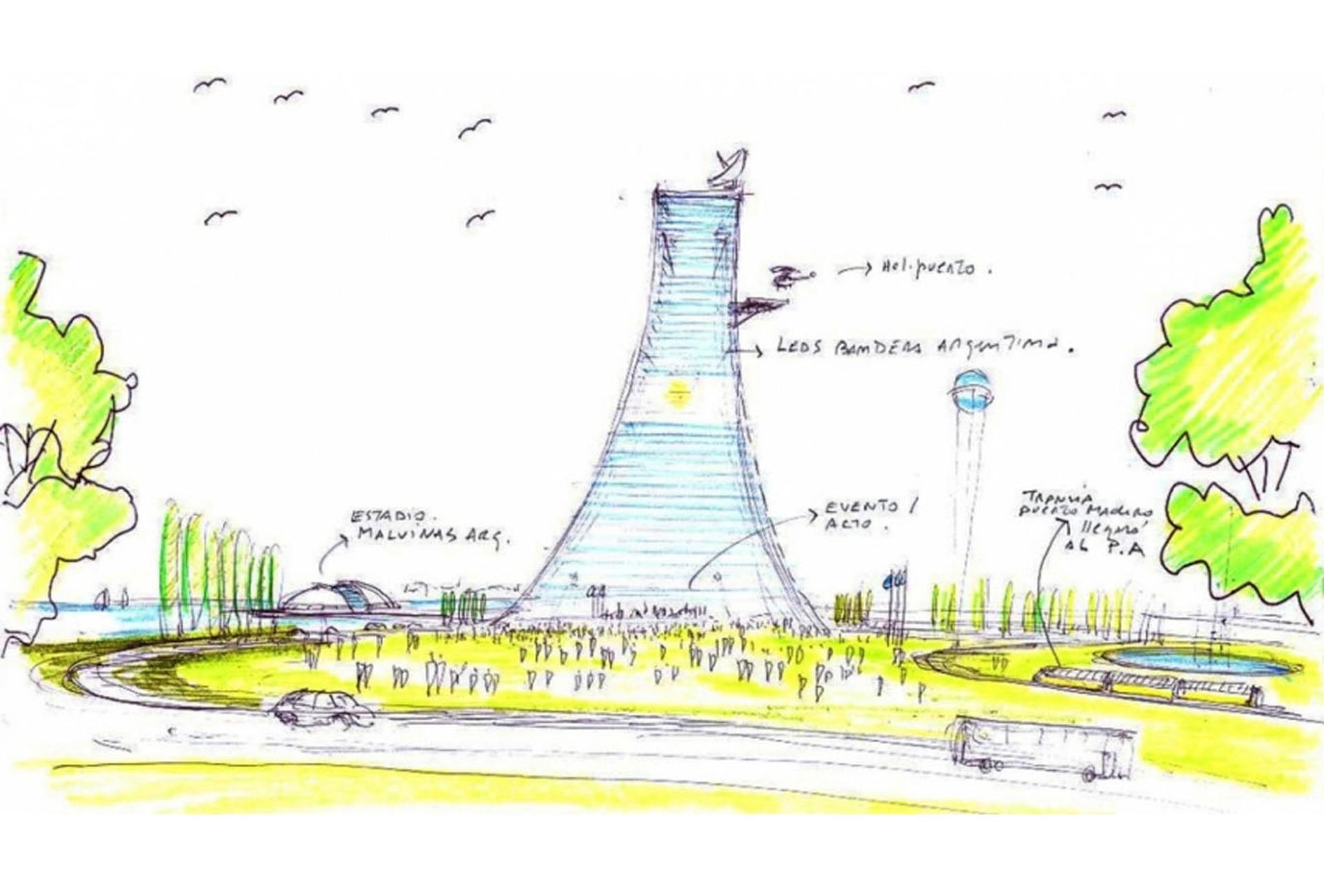 Isla Demarchi la torre ms alta de Latinoamrica y que albergara al Hollywood argentino que no fue