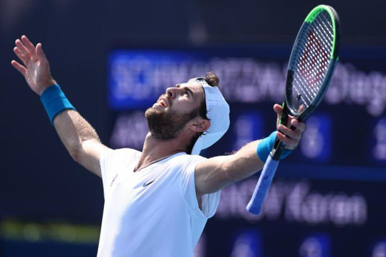 Khachanov, verdugo de Schwartzman, está en semifinales del tenis olímpico