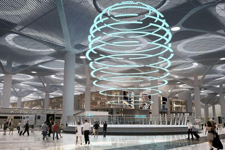 El nuevo aeropuerto extra large de Estambul